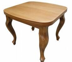 Stół W4 kwadratowy rozkładany kolor biały