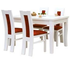 Stół z krzesłami 80x140 Diament - rozkładany