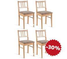 ZESTAW 4 krzeseł - MODEL 104
