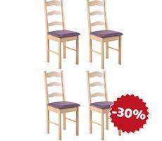 ZESTAW 4 krzeseł - MODEL 5