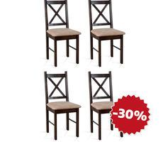 ZESTAW 4 krzeseł - MODEL 80