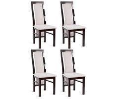 ZESTAW 4 krzeseł nowoczesnych- MODEL 44