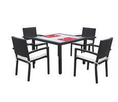 Zestaw stół i krzesła Adorazione