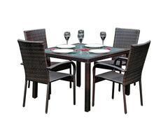Zestaw stół i krzesła Eccellente