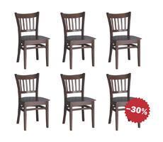 Zestaw stylowych krzeseł Model 28T