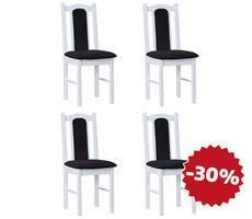 Zestaw stylowych krzeseł - model 3